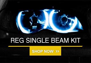 Xentec Premier 55 Watts H9 8000K Iceberg Blue HID Xenon Kit High Beam