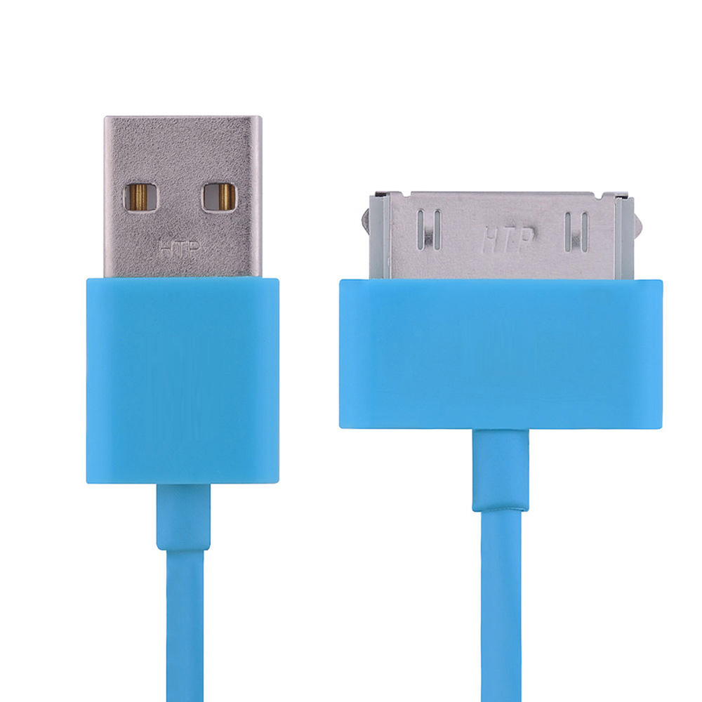 USB Sync Data Charging Charger Cable Cord for Apple iPhone 4 4S ipod ...